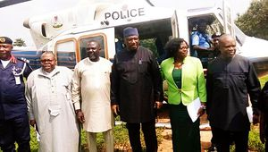 N/Ukelle || IDPs Relief materials + Minister of Interior Gen. Dambazau enter Ukelle