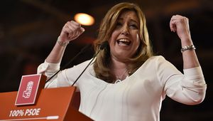 ¿ De donde ha salido el dinero para el macro acto de Susana Díaz?