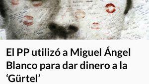 Los tuiteros recuerdan al PP su 'homenaje' a Miguel Ángel Blanco cuando utilizó su fundación para falsear facturas