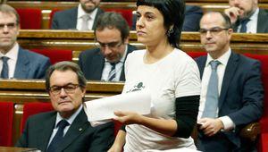 La CUP acusa a Felipe VI de financiar el terrorismo islamista