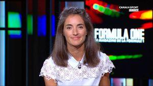 Margot Laffite Formula One Canal + le 18.09.2016