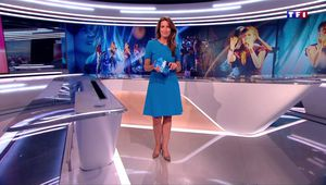 Anne-Claire Coudray JT 20H TF1 le 24.06.2017