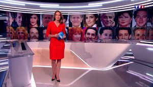 Anne-Claire Coudray JT 20H TF1 le 25.06.2017