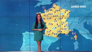 Alexandra Blanc Météo LCI le 24.07.2017