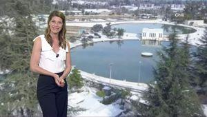 Chloé Nabédian Météo France 2 le 25.07.2017