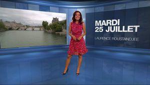Laurence Roustandjee Météo M6 le 25.07.2017