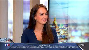 Alexandra Blanc Météo LCI le 19.08.2017