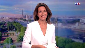 Anne-Claire Coudray JT 20H TF1 le 16.09.2017