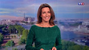 Anne-Claire Coudray JT 20H TF1 le 17.09.2017