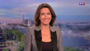 Anne-Claire Coudray JT 20H TF1 le 22.09.2017