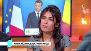 Emilie Tran Nguyen C l'Hebdo France 5 le 23.09.2017