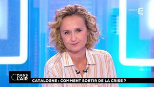Caroline Roux C Dans l'Air France 5 le 11.10.2017