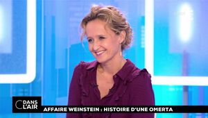Caroline Roux C Dans l'Air France 5 le 12.10.2017