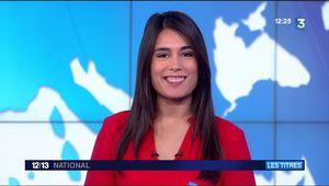 Emilie Tran Nguyen Le 12/13 France 3 le 20.10.2017