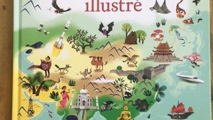 Atlas du monde illustré – Editions Usbornes