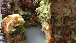 Palets courgettes-truite