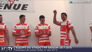 Le Stado TPR Saison 2017 2018 Les avants (31 août 2017) | HPyTv Tarbes