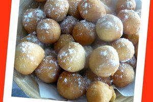 Castagnoles à la toscane (beignets Italien)
