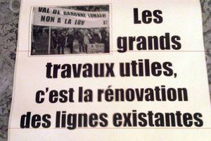 Sam 1er dec : NON à la LGV Bordeaux-Toulouse, OUI au TGV sur la voie existante modernisée