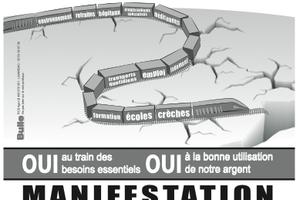 Non à la LGV : réunion publique le 18 mars à Montauban