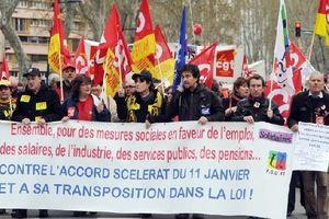 Les manifestations contre la loi sur l'emploi