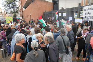 AFPS 82/ Palestine : Rassemblement du 12 juillet à Montauban