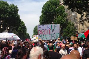 A Barbès, manifestation interdite et souricière policière