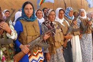 Manifestation pour Kobanê - La question kurde en Turquie