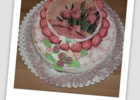Work in progress: torta per compleanno Alice