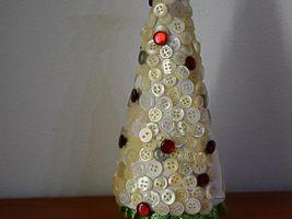 Aberello natalizio con bottoni