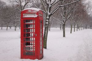 London in the Snow !