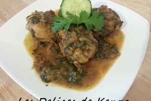 Poulet au curry indien traditionnel