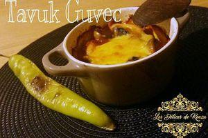 Tavuk Guvec ( Casserole de Poulet Turque ) VIDEO