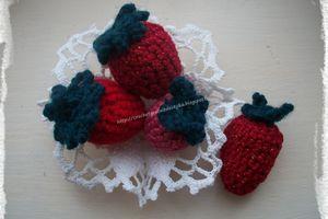 Des fraises au crochet