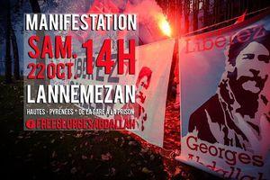 Manifestation nationale pour la libération de Georges Ibrahim Abdallah
