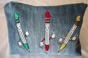 les crayons de Dominique