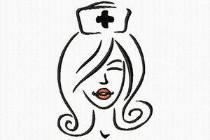 une belle infirmière