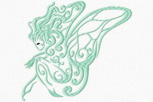 2 fées stylisées