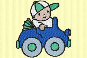 bébé et son auto