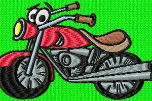 une moto sympa