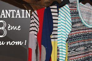 DIY Couture : Plantain 3ème du nom