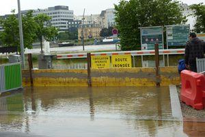 La crue de la Seine à Ivry
