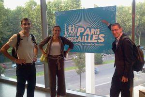 En route pour le Paris-Versailles