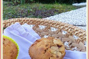 ... Muffins Banane et Milka ...