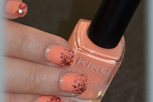 Kiko 359 - Light Peach et ses paillettes