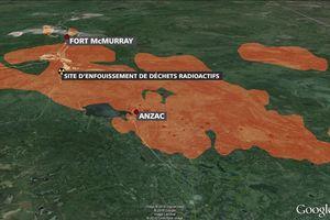 Fort McMurray, sous les flammes, des maisons et des terres, sous la terre, des déchets nucléaires !?