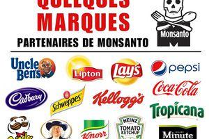 Les marques qui utilisent les produits Monsanto