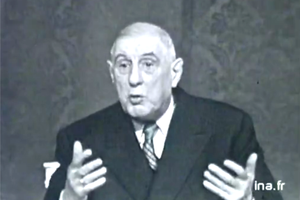 """50 ans après De Gaulle serait accusé de """" complotisme """""""