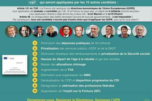 Le programme de Macron : Les G.O.P.E. 2017/2018 ou les consignes de Bruxelles pour la France
