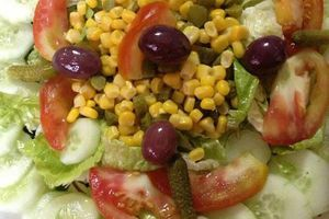 Salade de comcombre
